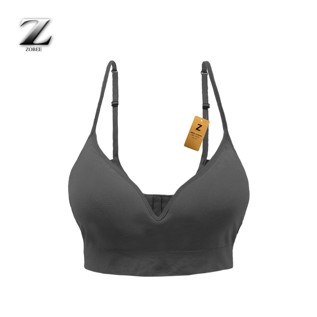 ZOBEE Áo lót ngực nữ bra không gọng, không đệm AL 7108   Shopee Việt Nam