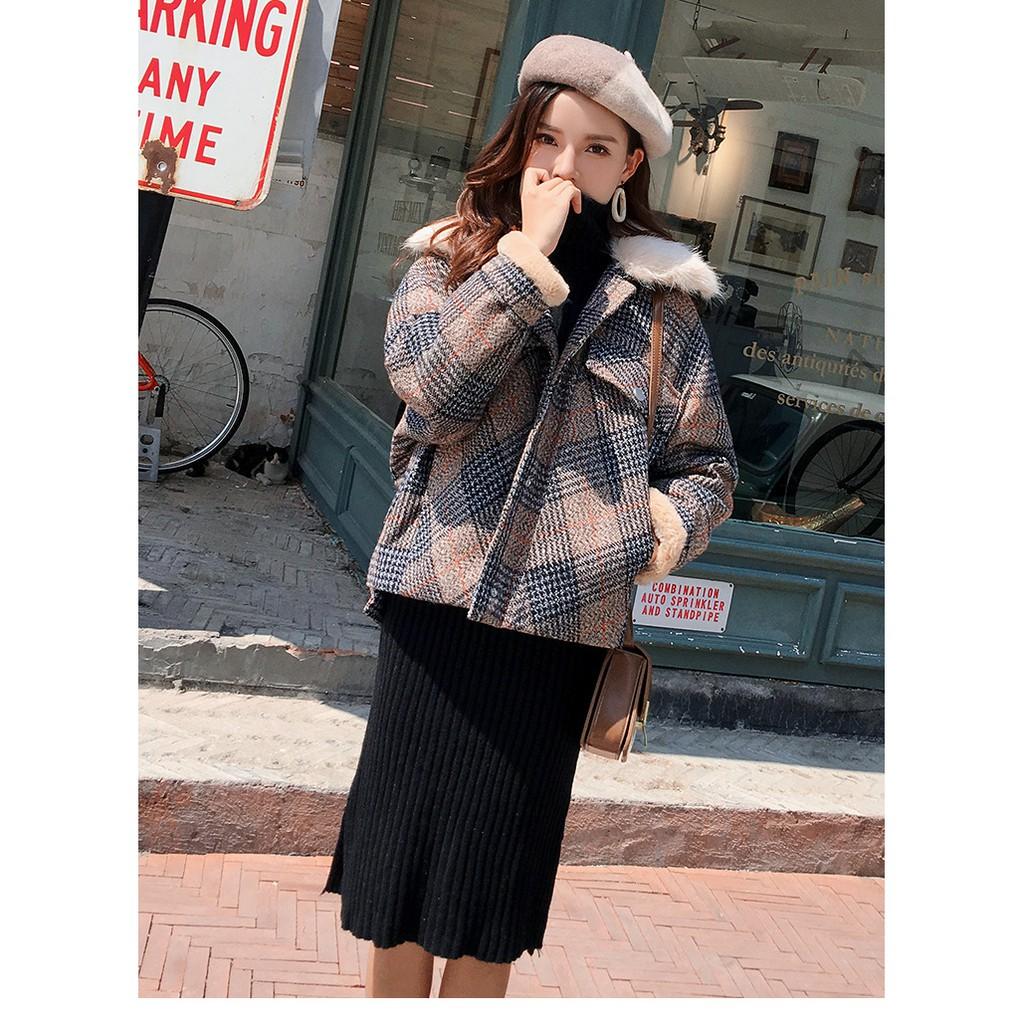 Áo khoác dạ nữ Hàn Quốc -Kèm ảnh thật lót lông AK050 - 22637968 , 2674387511 , 322_2674387511 , 650000 , Ao-khoac-da-nu-Han-Quoc-Kem-anh-that-lot-long-AK050-322_2674387511 , shopee.vn , Áo khoác dạ nữ Hàn Quốc -Kèm ảnh thật lót lông AK050