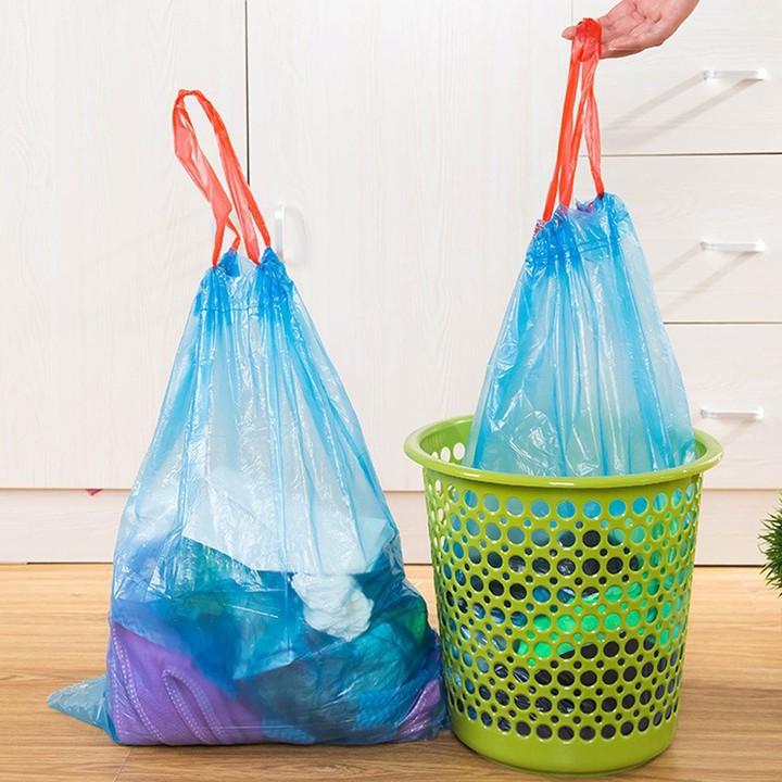 [BÃO GIẢM GIÁ] Túi đựng rác siêu sạch 1 cuộn 15 túi có quay | Toàn Quốc