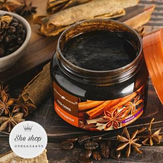 Tẩy da chết, kem dưỡng da chiết suất quế hồi và cafe Exclusive Cosmetics chính hãng Nga 380ML giúp trẻ hóa,săn chắc da.