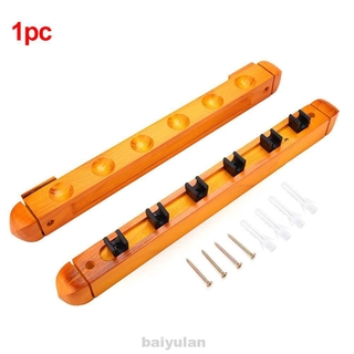 Hanging Home Organizer Professional Save Space Wooden Pool Cue Rack Set