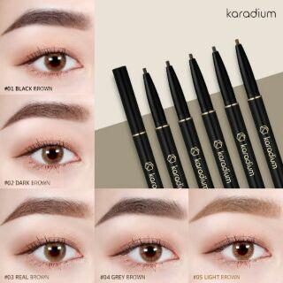 [Mã COSHOT03 giảm 10% đơn 350K] Chì kẻ mày hai đầu karadium flat eyebrown pencil thumbnail
