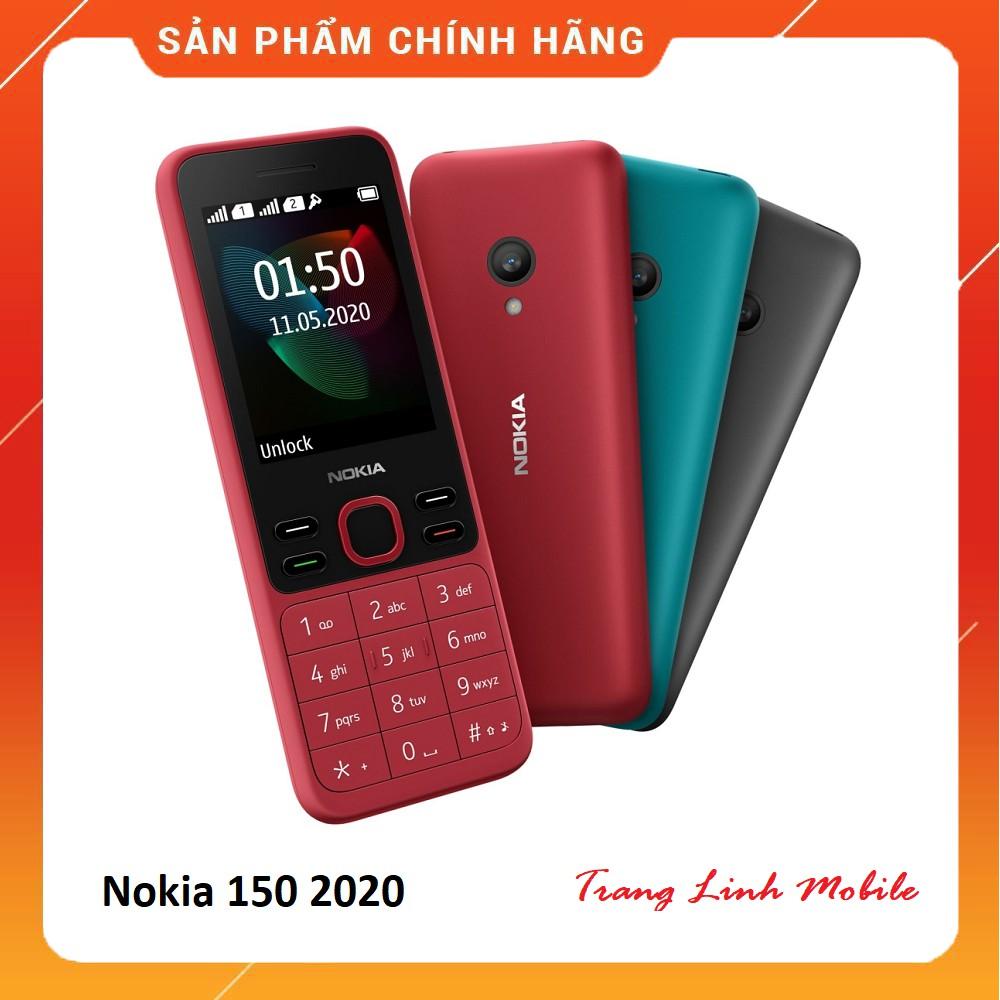 [Mã 267ELSALE hoàn 7% đơn 300K] Điện thoại Nokia 150 Phiên Bản 2020 - Hàng Chính Hãng