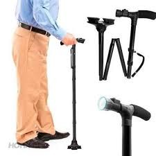 Gậy chống cho người già có đèn