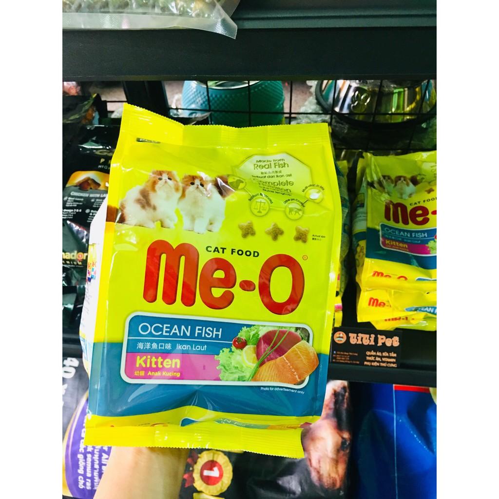 Thức ăn hạt cho mèo con (2-10 tháng) Meo-O Kitten 400gr (vị cá biển)