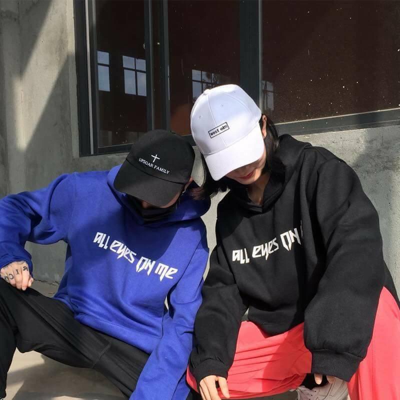 Áo hoodie ALL EYES ON ME chất - Áo hoodie nam nữ