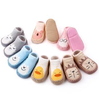 Giày Vải Cotton Hình Thỏ Hồng Cho Bé Từ 0-2 Tuổi thumbnail