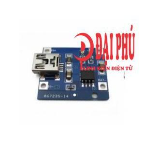 Module sạc pin lithium TP4056 1A cổng mini usb - 3338497 , 458600704 , 322_458600704 , 7000 , Module-sac-pin-lithium-TP4056-1A-cong-mini-usb-322_458600704 , shopee.vn , Module sạc pin lithium TP4056 1A cổng mini usb