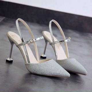 Giày cao gót nhọn 9p bít mũi mã M17 thumbnail