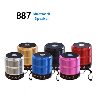 Loa Bluetooth Không Dây Ws887 Hỗ Trợ Thẻ Nhớ Tf