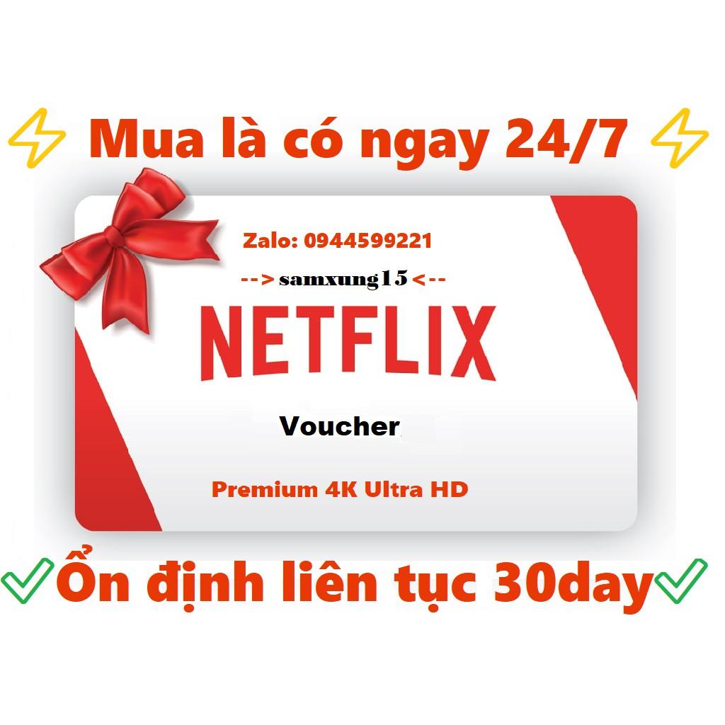 [⚡️Voucher] Toàn Quốc - Xem Phim Netflix 4K Thời Hạn 1 Tháng