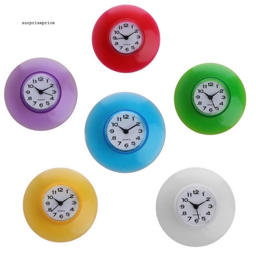 Đồng hồ treo tường chống thấm nước cho nhà bếp / phòng tắm
