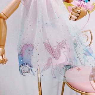 Váy  pony cho bé gái kèm bờm mặc trung thu