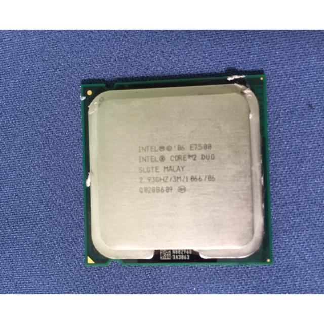 Chip cpu core 2 duo E7500 Giá chỉ 64.000₫
