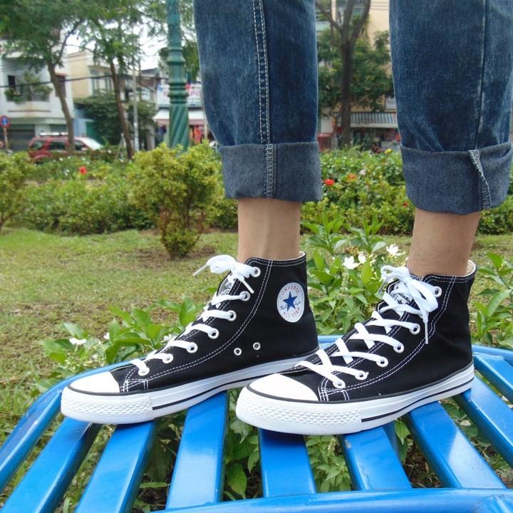 Giày Converse AllStar Classic Cổ Cao Nam Đen