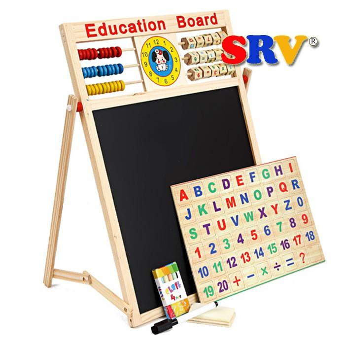 Bảng 2 mặt kèm bộ chữ số bằng gỗ gắn nam châm - 3377944 , 484255623 , 322_484255623 , 198000 , Bang-2-mat-kem-bo-chu-so-bang-go-gan-nam-cham-322_484255623 , shopee.vn , Bảng 2 mặt kèm bộ chữ số bằng gỗ gắn nam châm