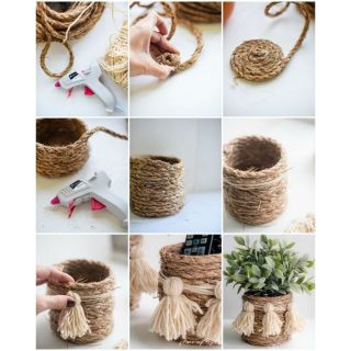 10m dây thừng 4 ly handmade