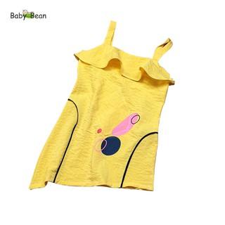 Đầm Bèo 2 Dây Đuôi Cá Vạt Xéo Sang Chảnh Baby Bean