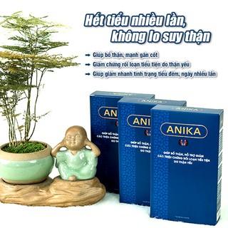 [COMBO 3 Hộp] Viên uống Anika cho người bị thận, tiểu đêm, tiếu rắt, nâng cao thể lực