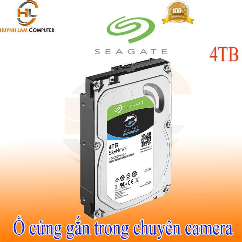 Ổ cứng gắn trong 4TB – Ổ cứng gắn trong 4TB Seagate Skyhawk chuyên camera Giá chỉ 2.695.000₫