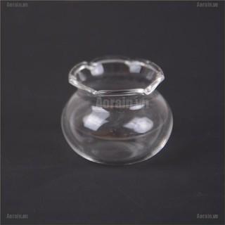MT 1:12 Dollhouse Accessories Miniature Glass Fish Tank Aquarium Doll Ornament NY