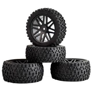 RC 4pcs 66015-66035 Front&Rear Tires Insert Sponge Wheel HSP 1:10 Off-Road Buggy