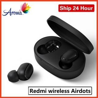 Tai nghe không dây True Wireless Airdots - Bluetooth 5.0, Pin 12 tiếng kèm hộp