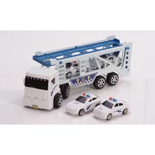 Bộ đồ chơi xe tải oto Police