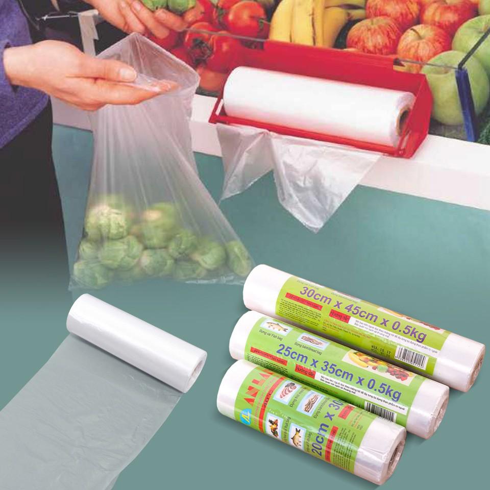 [Mã 267FMCGSALE giảm 8% đơn 500K] (COMBO 2 CUỘN) Cuộn 120 túi đựng thực phẩm An Lành 25x35cm