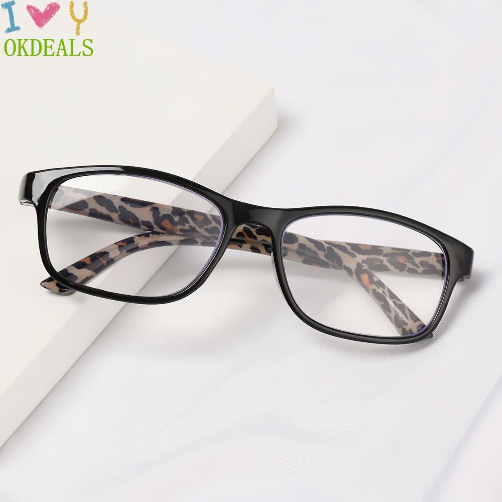 💎OKDEALS💎 Unisex Reading Glasses High-definition PC Frames Presbyopic Glasses Portable Vision Care Ultralight +1.00~+4.00 Eyeglasses