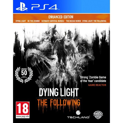 Đĩa game PS4: DYING LIGHT ( THE FOLLOWING )