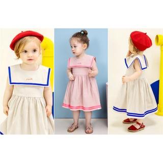 Quần áo trẻ em Hàn - Váy cộc tay cho bé gái từ 1-5 tuổi thumbnail