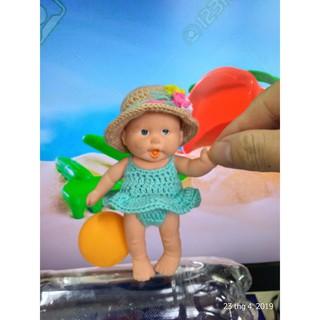 Bikini kèm mũ cho búp bê 12.7 cm, Outfit doll 5 inch