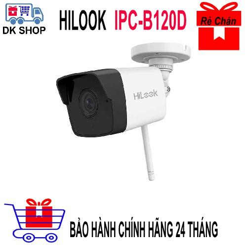 Camera IP không dây 2.0 M HILOOK IPC-B120-D/W - Chính Hãng Hikvision - Bảo Hành 24 Tháng.