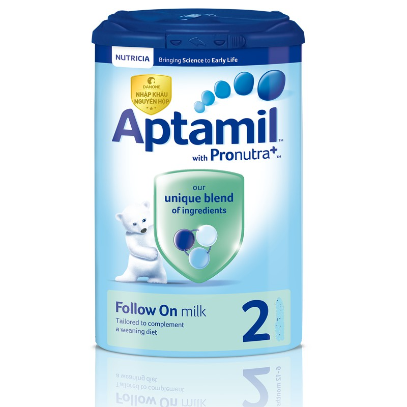Sữa Aptamil Anh số 2 900g