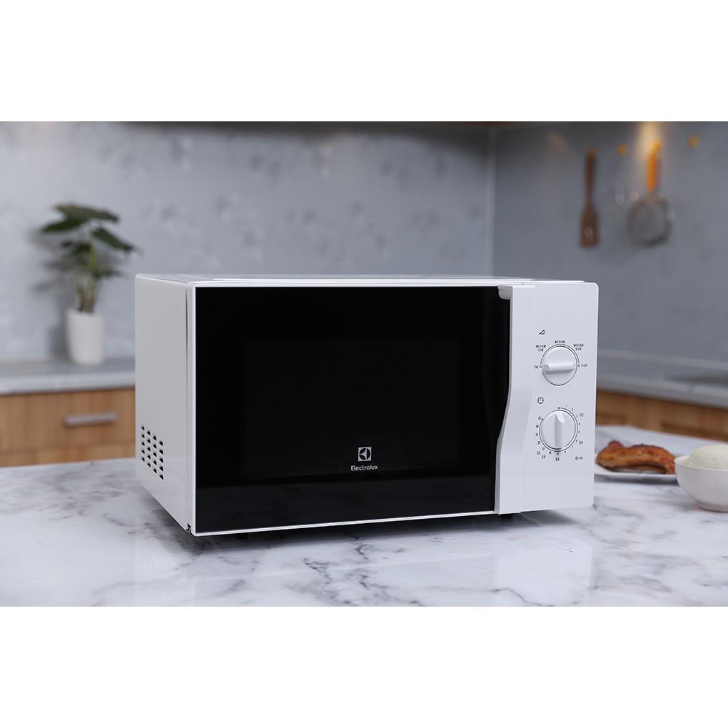 Lò vi sóng Electrolux (Thụy Điển) EMM2322MW 23 lít nấu, hâm nóng, rã đông (Hàng trưng bày - Bảo hành 24 th
