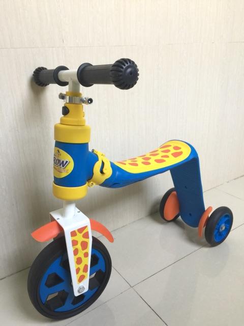 Xe chòi chân và scooter 2 in 1 hàng Việt Nam an toàn cho trẻ nhỏ