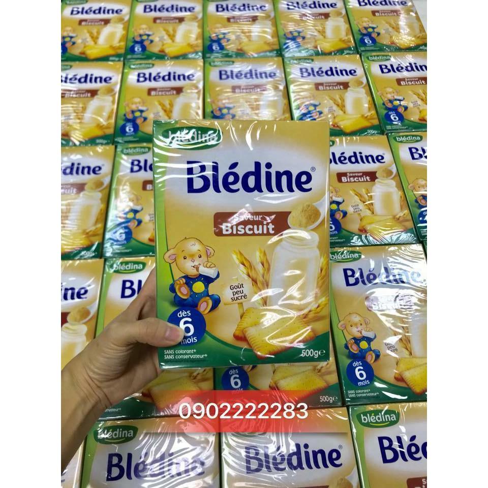 Bột pha sữa Bledina bích quy cho bé từ 6 tháng date 17/01/2019