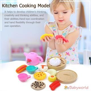 Bộ đồ chơi mô phỏng nấu ăn 14 món dễ thương cho bé