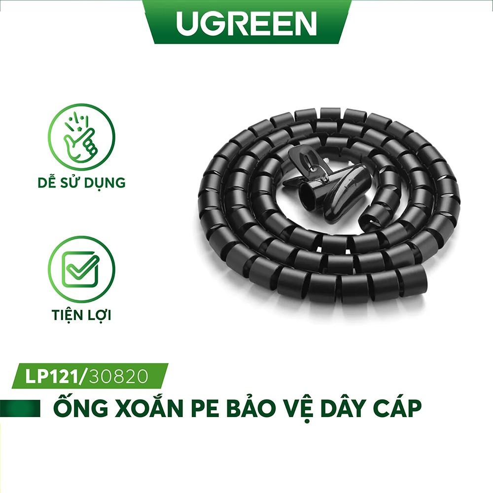 Dây dạng ống xoắn PE bảo vệ các loại dây cáp dài 3m UGREEN LP121 30819