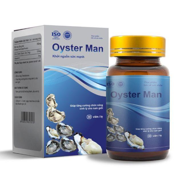 Tinh Chất Hàu Oyster Man - Trị Yếu Sinh Lý, Xuất Tinh Sớm, Tăng Cường Si