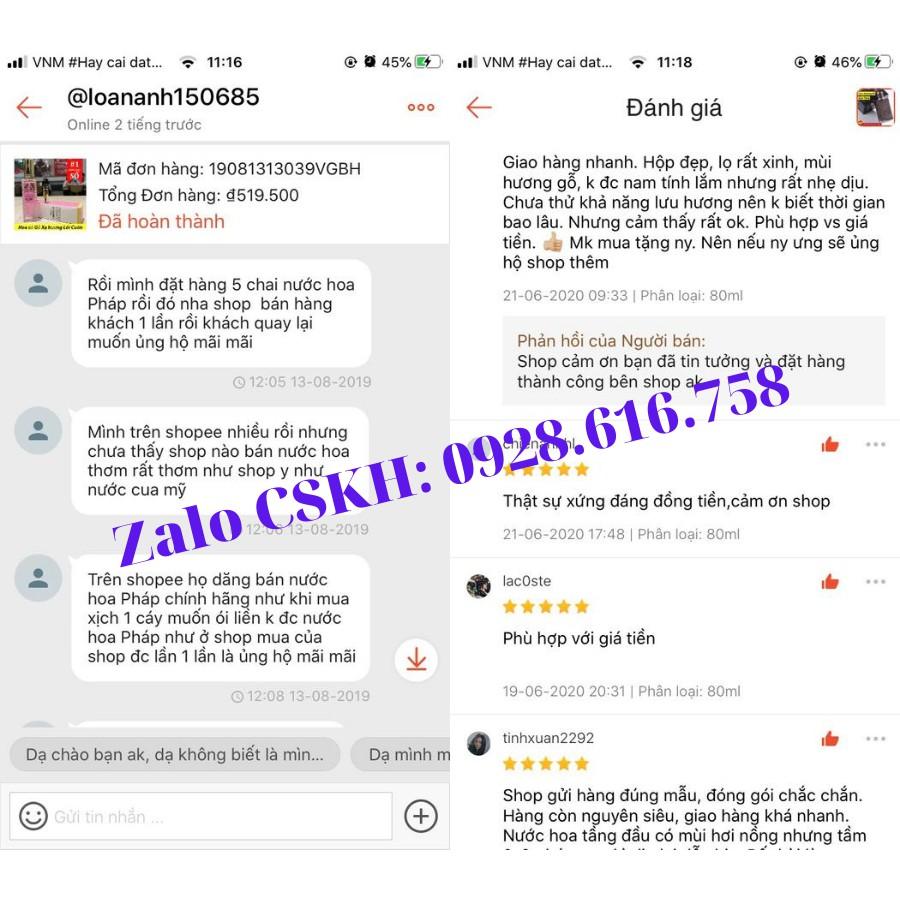 Nước Hoa Nam Nữ mini Iancome TreSor 20ml Hương Thơm Ngọt Ngào