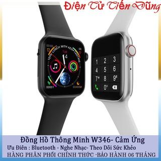 Đồng hồ thông mình W34 Series 4 cảm ứng theo dõi sức khỏe kết nối bluetooth sự lựa chọn tốt cho khách hàng