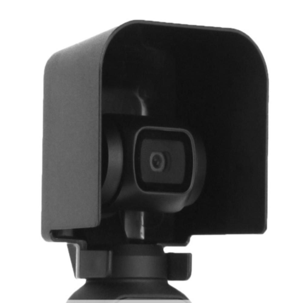For OSMO Pocket Black Stabilizer Camera Handheld Easy Installation Accessories Gimbal Mount Plastic Lens Hood