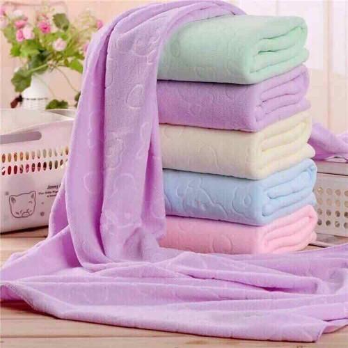 Set 2 khăn tắm cao cấp 140*70cm giá rẻ