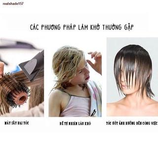 ❀lvits❀❦¤Khăn ủ tóc, quấn tóc sợi microfiber siêu thấm, lông mềm, nhanh khô – Việt thư