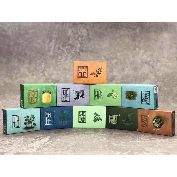 Xà Bông thảo dược - xà phòng thiên nhiên - dạng sáp, không hóa chất - sử dụng cho mọi loại da