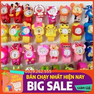 (FreeShip) Đồng hồ đập tay dành cho trẻ em (cả bé trai và bé gái) nhiều mẫu siêu đáng yêu thumbnail