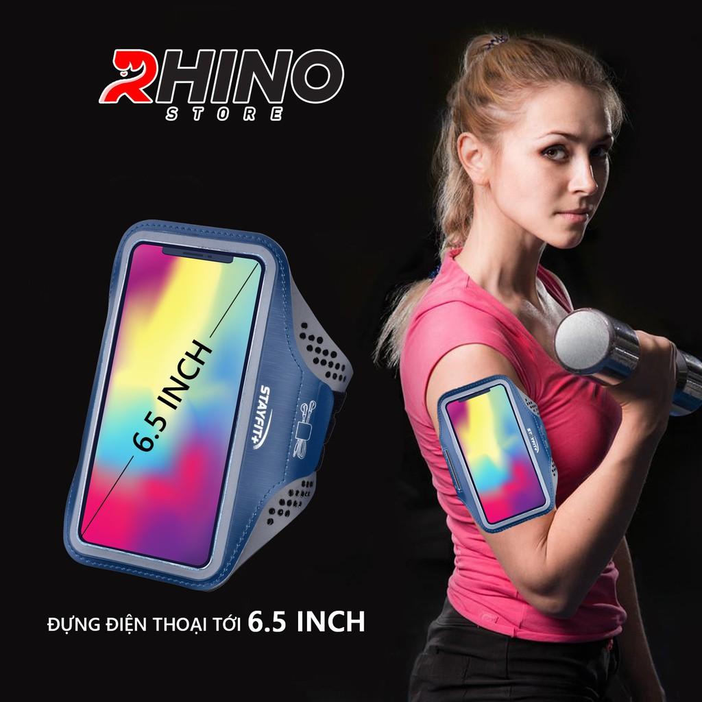 Túi đeo tay chạy bộ, túi đeo tay đựng điện thoại tập thể dục Rhino B102 Kháng nước, chống thấm tới 6.5 Inch  giá tốt
