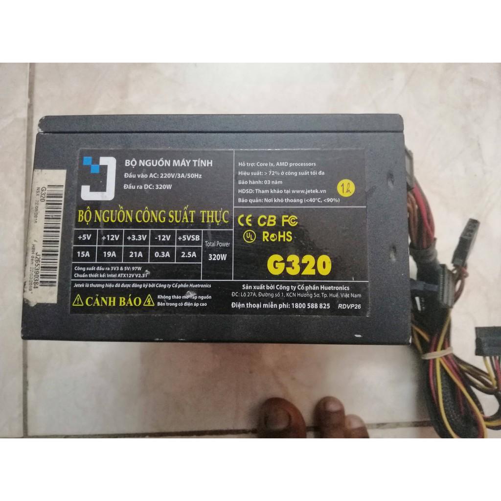 Nguồn máy tính Jetek G320 Công suất thực 320W